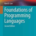 [PDF] [EPUB] Foundations of Programming Languages (Undergraduate Topics in Computer Science) Download