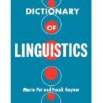 [PDF] [EPUB] Dictionary of Linguistics Download