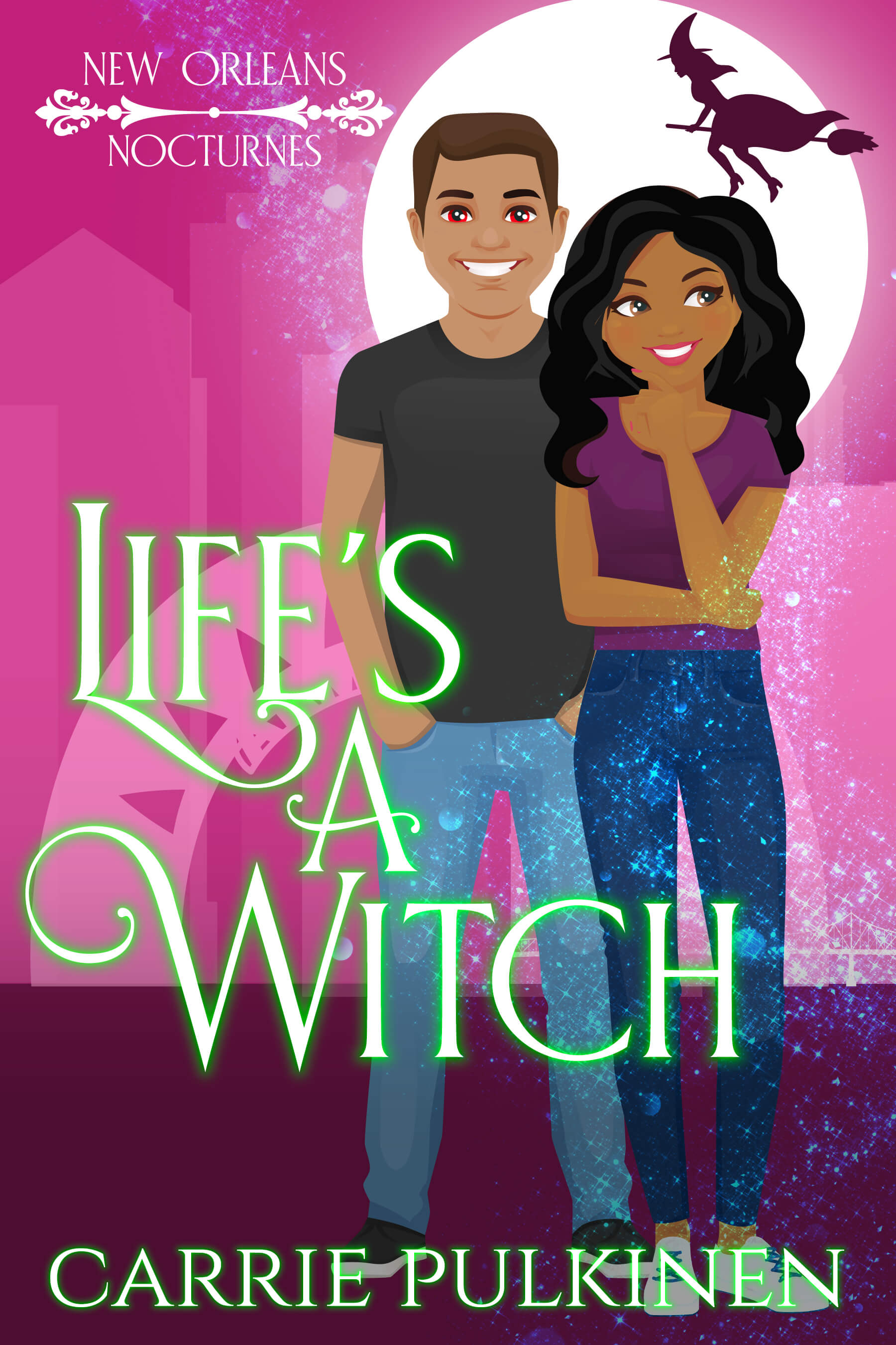 [PDF] [EPUB] Life's a Witch (New Orleans Nocturnes, #3) Download by Carrie Pulkinen
