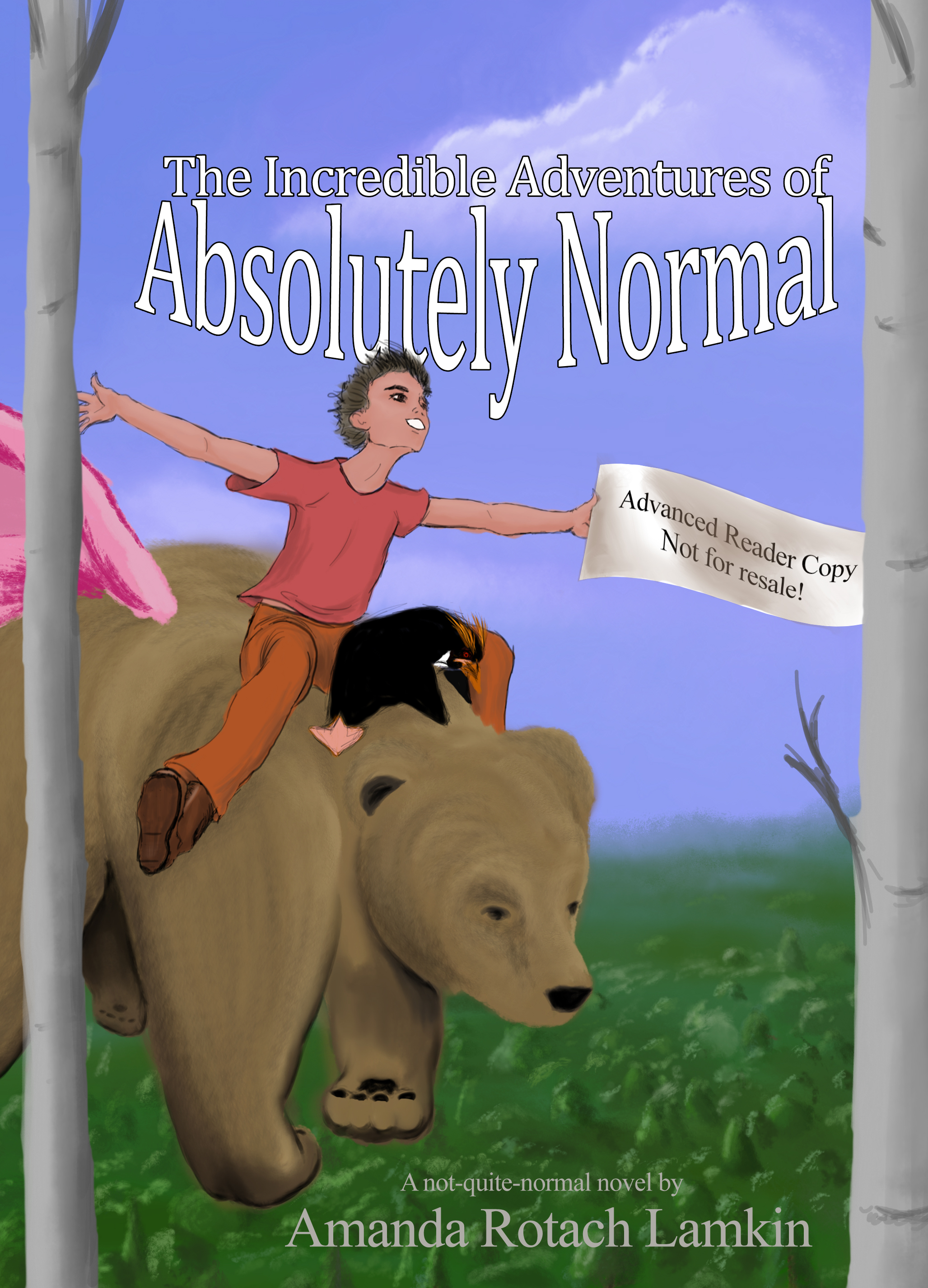 [PDF] [EPUB] The Incredible Adventures of Absolutely Normal (Absolutely Normal Book One) Download by Amanda Rotach Lamkin