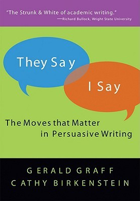 [PDF] They Say I Say: The Moves That Matter in Academic Writing Download by Gerald Graff