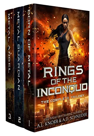 [PDF] [EPUB] The Rings of the Inconquo Trilogy: The Complete Series Download by A.L. Knorr