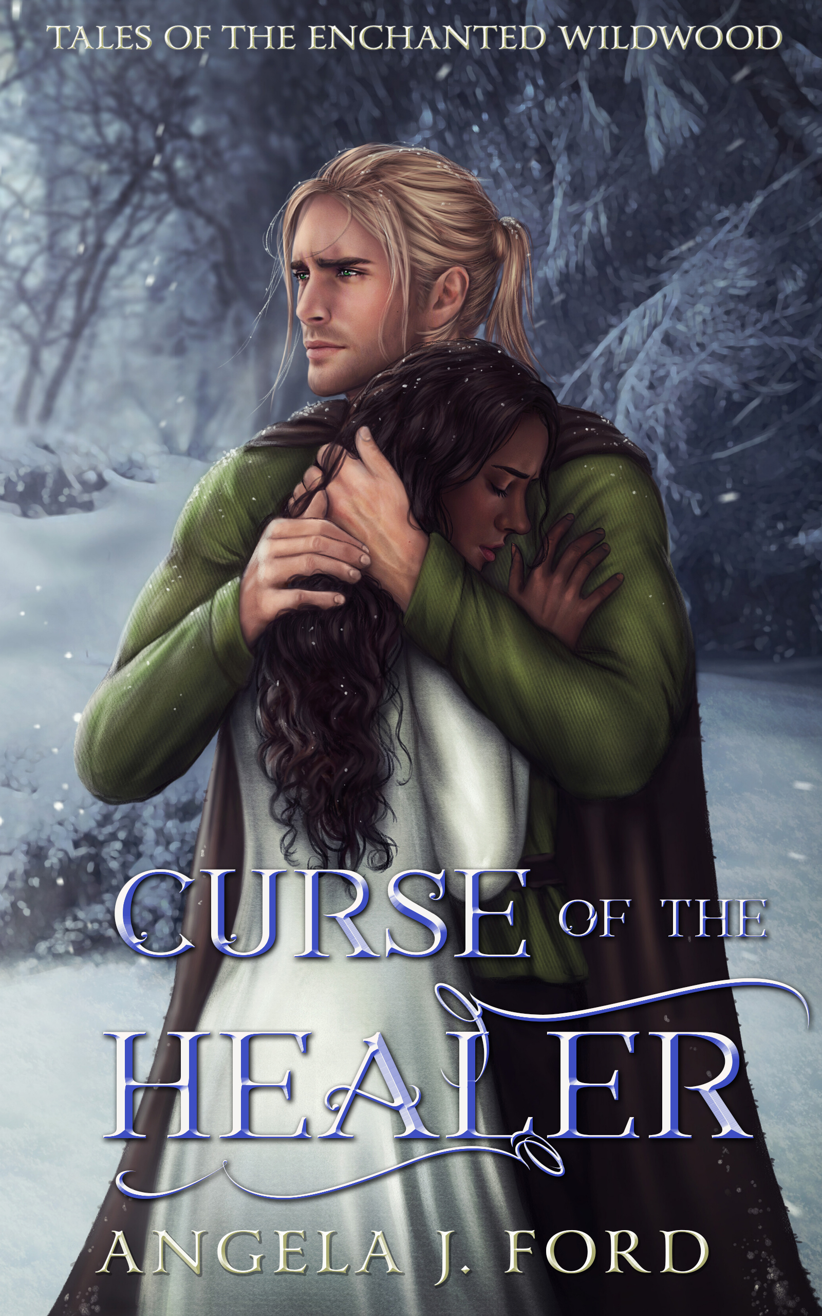 [PDF] [EPUB] Curse of the Healer (Tales of the Enchanted Wildwood #2) Download by Angela J. Ford