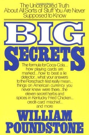 [PDF] [EPUB] Big Secrets Download by William Poundstone